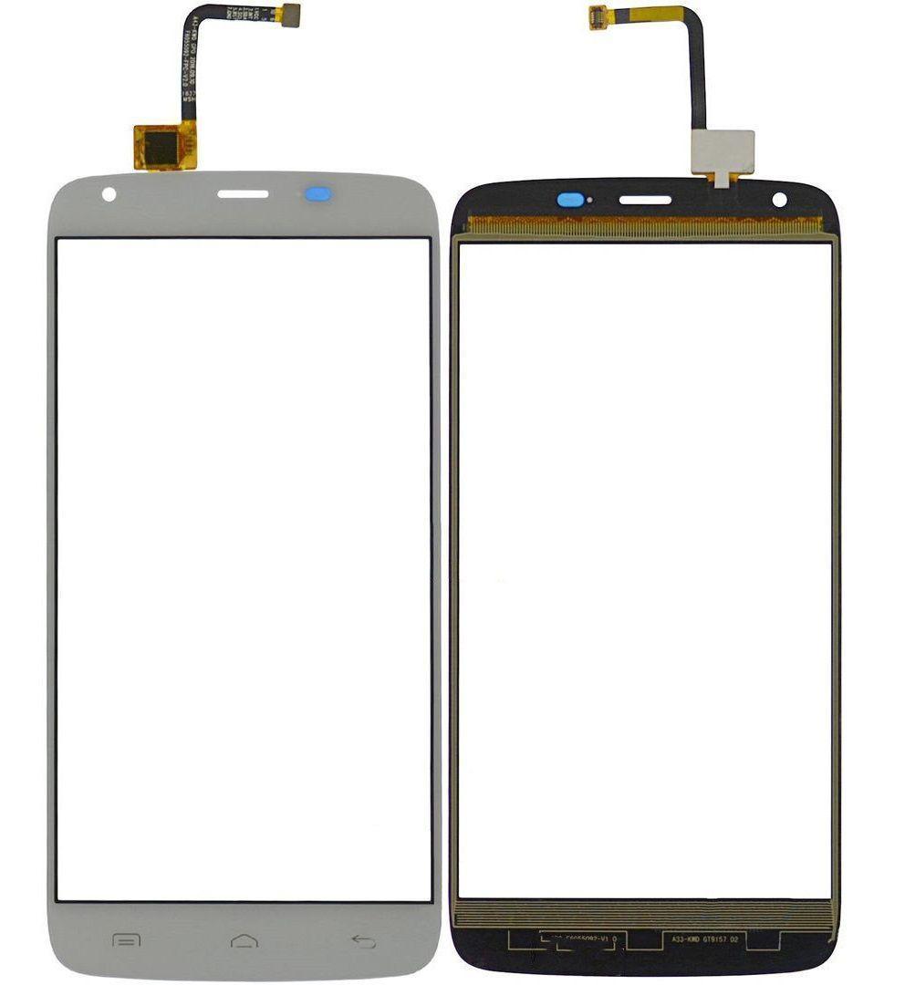 Сенсор (тачскрин) для телефона Homtom HT6, HT6 Pro White