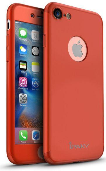 Чехол iPaky 360 PC Whole Round Apple iPhone 7, iPhone 8 Red