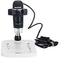 Цифровий мікроскоп SIGETA Expert 10-300x 5.0 Mpx, фото 1