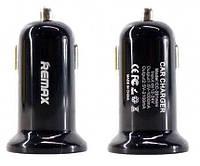 Автомобильное зарядное устройство Remax Car Charger 2.1A 2USB Black (RCC201)