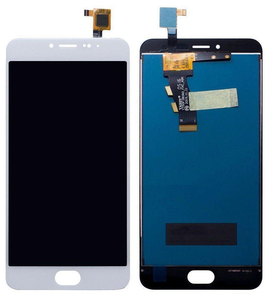 Дисплей (экран) для телефона Meizu M3 M688H, M3 mini M688H + Touchscreen White