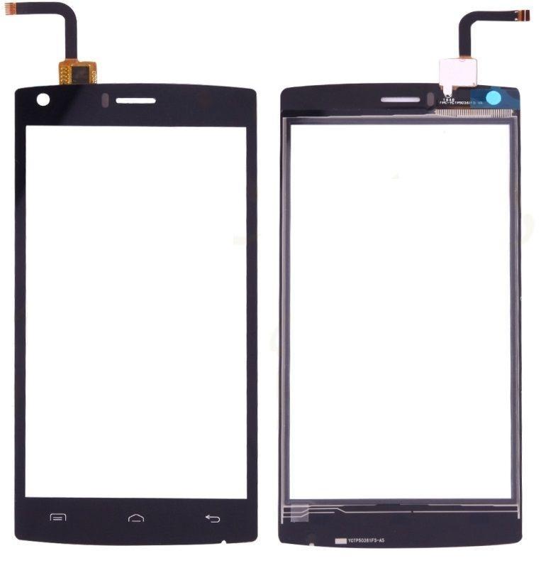 Сенсор (тачскрин) для телефона DOOGEE X5 Max, X5 Max Pro Black