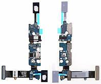 Нижняя плата Samsung Galaxy Note 5 N920 / N9200 rev 0.7 с разъемом зарядки и микрофоном
