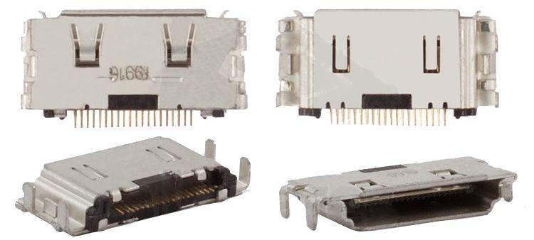 (Коннектор) Разъем зарядки Samsung C3010 / C3011 / G400 / I550 / I560 / I7110 / I740 / S3600 / S5200