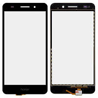 Сенсор (тачскрин) для телефона Huawei Y6 II CAM-L21, Honor 5A CAM-AL00 Black
