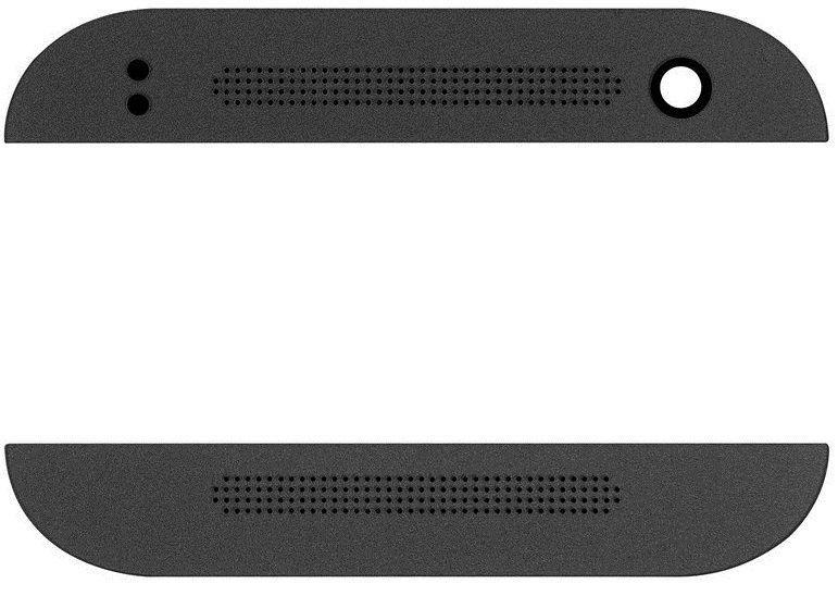 Верхняя и нижняя панели HTC One mini 2 Black