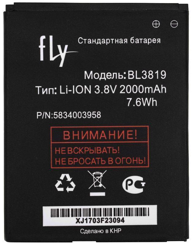 Аккумулятор Fly IQ4514 EVO Tech 4 / BL3819 (2000 mAh) 12 мес. гарантии