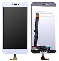 Дисплей (экран) для телефона Xiaomi Redmi Note 5A, Redmi Y1 Lite + Touchscreen White