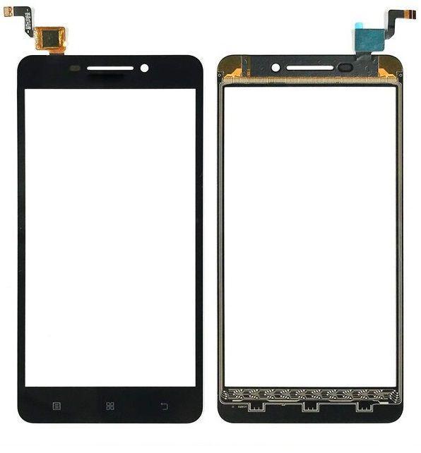 Сенсор (тачскрин) для телефона Lenovo A5000 Black