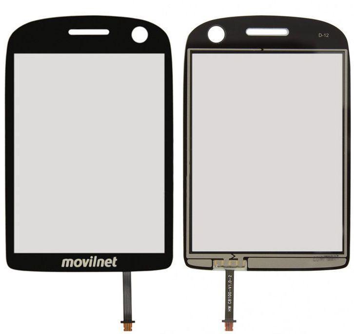 Сенсор (тачскрин) для телефона Huawei U7510 Black