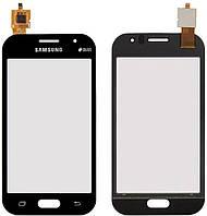 Сенсор (тачскрин) для телефона Samsung Galaxy J1 Ace J110 (original) Black