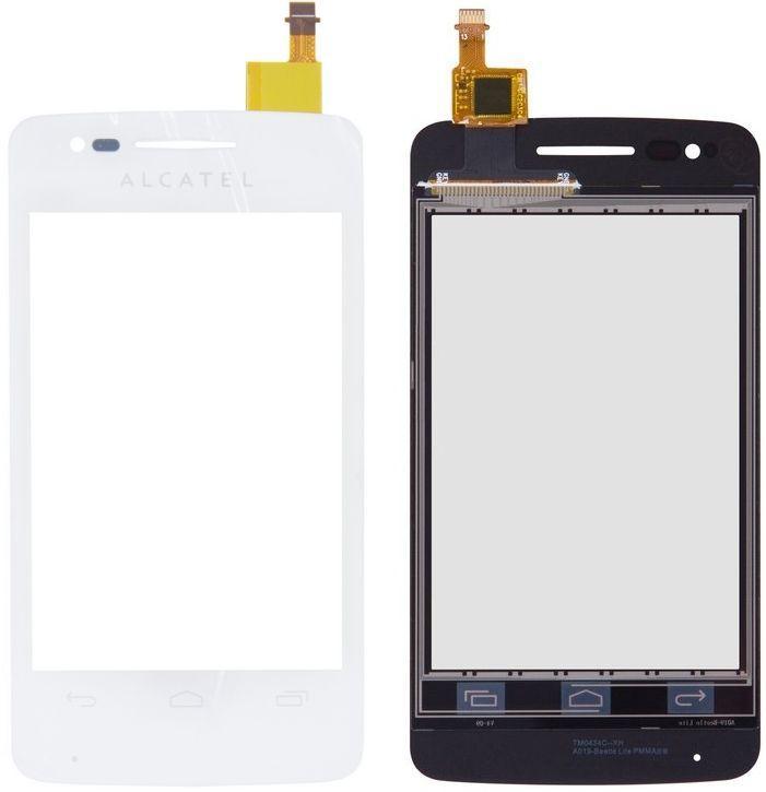 Сенсор (тачскрин) для телефона Alcatel One Touch 4030 S'Pop, 4030D White