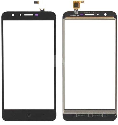 Сенсор (тачскрин) для телефона DOOGEE Y6, Y6 Pro Black