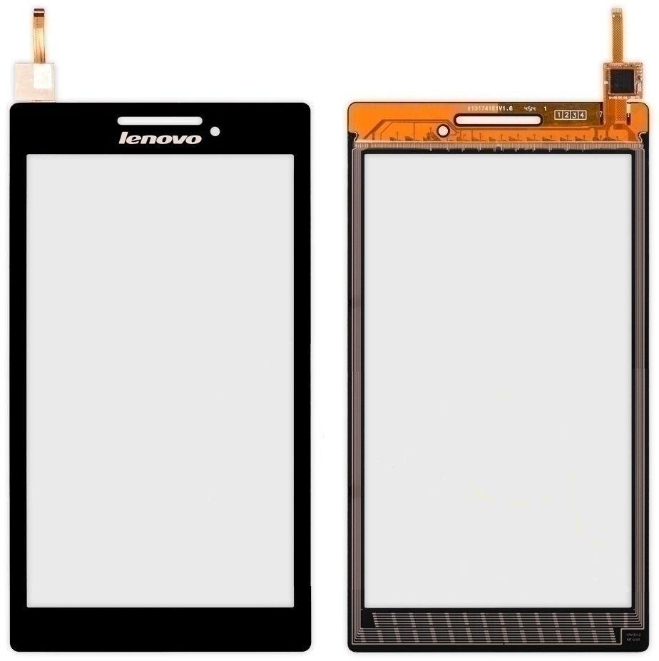 "Сенсор (тачскрин) Lenovo IdeaTab A7-10, A7-20F Tab 2 7"" Black"