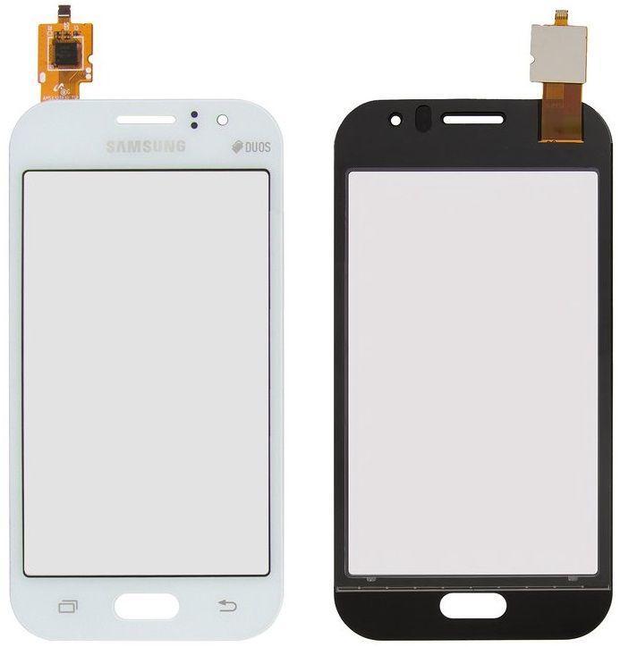 Сенсор (тачскрин) для телефона Samsung Galaxy J1 Ace J110 White