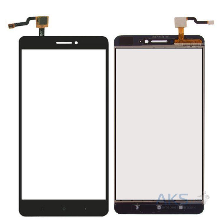 Сенсор (тачскрин) для телефона Xiaomi Mi Max Black
