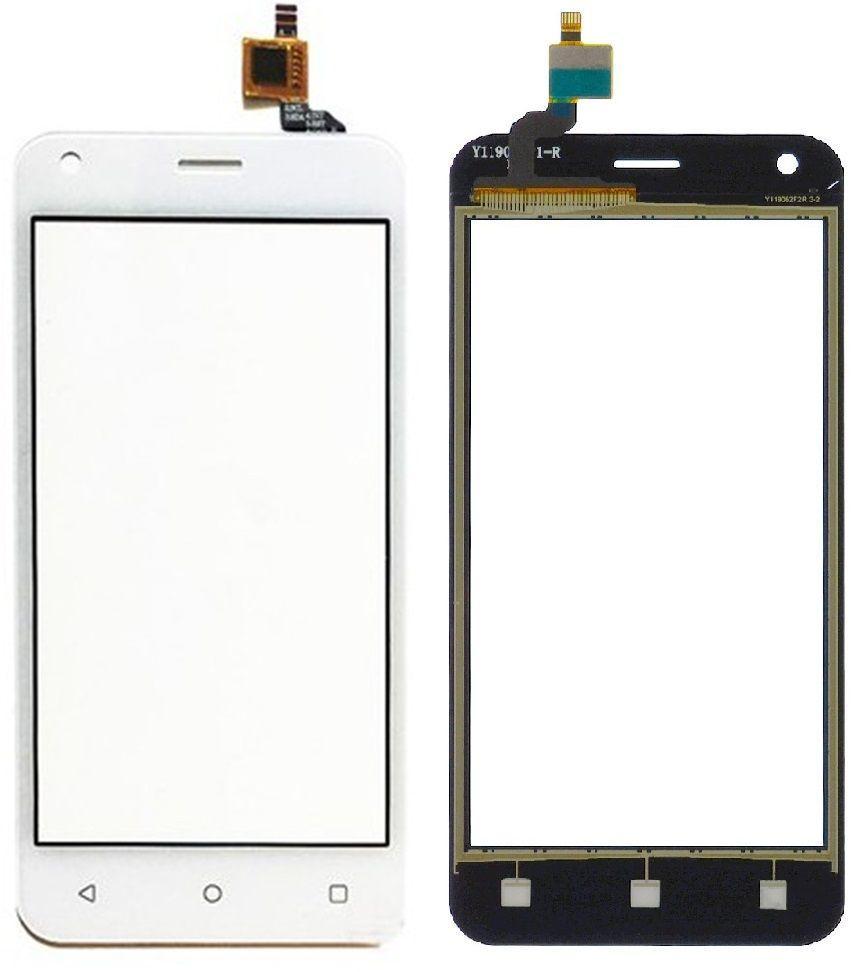 Сенсор (тачскрин) для телефона Fly FS454 Nimbus 8, FS455 Nimbus 11 White