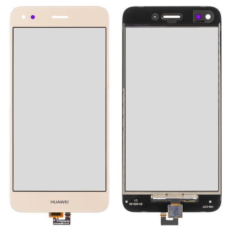 Сенсор (тачскрин) для телефона Huawei Nova Lite 2017 SLA-L22, P9 Lite mini, Y6 Pro 2017 Gold