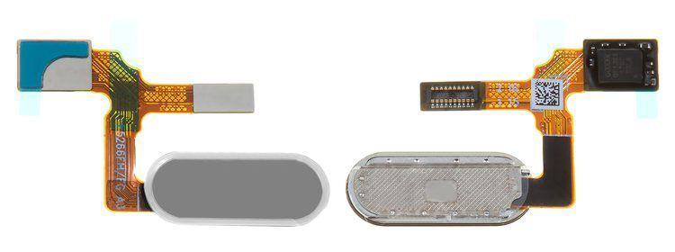 Шлейф Huawei Honor 9 со сканером отпечатка пальца Grey