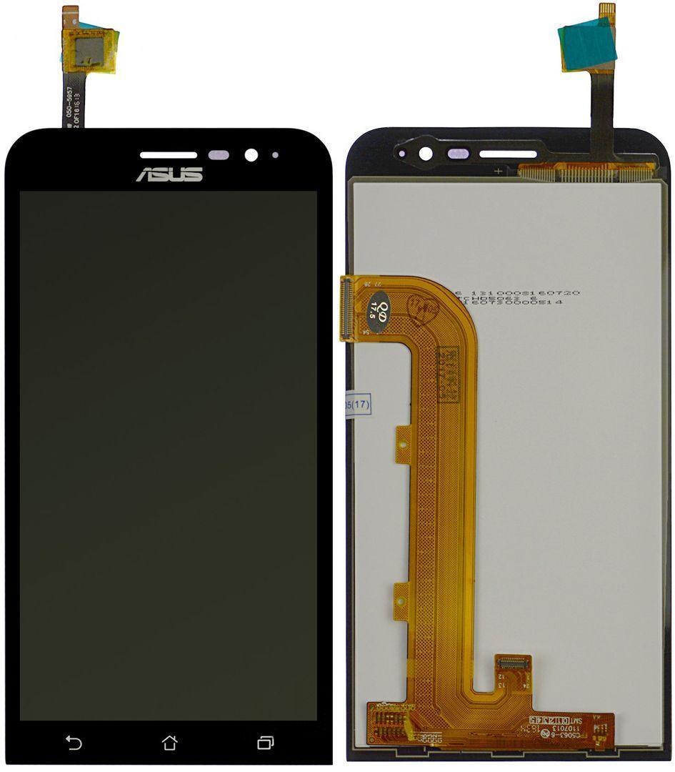 Дисплей (экран) для телефона Asus ZenFone Go ZB500KG + Touchscreen Black