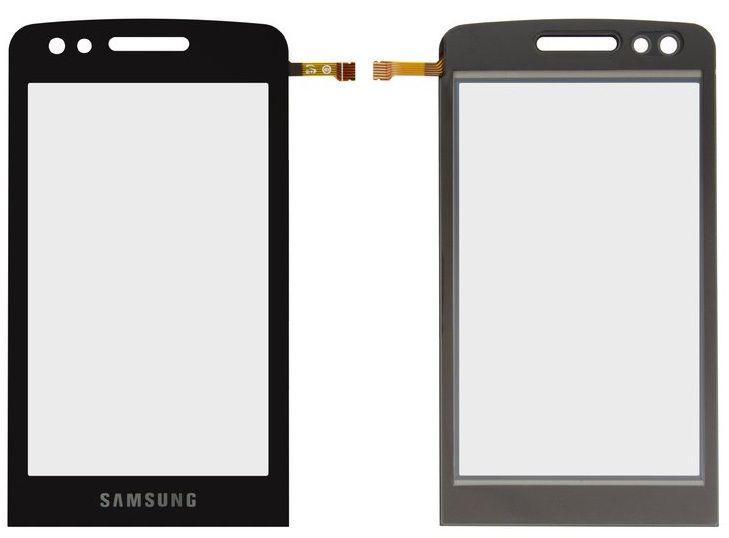 Сенсор (тачскрин) для телефона Samsung M8800 Black