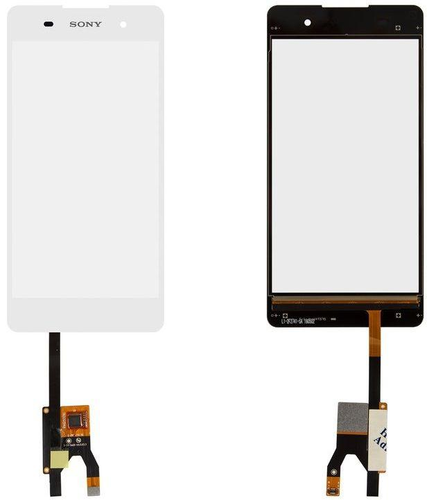 Сенсор (тачскрін) для телефону Sony Xperia E5 F3311 White