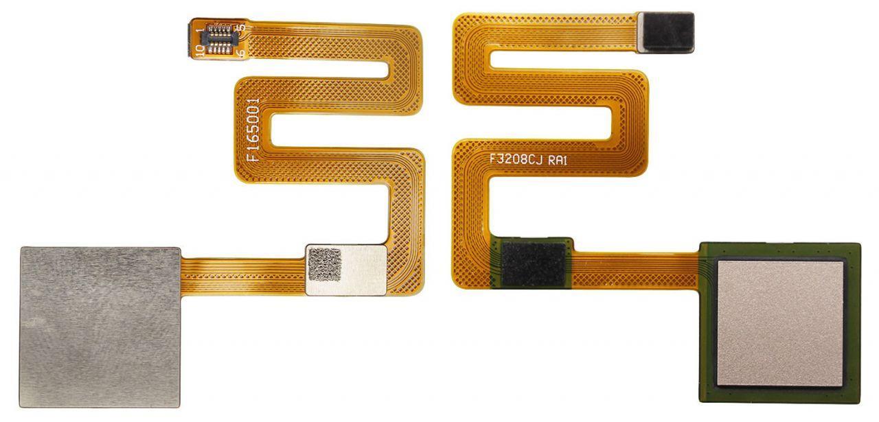 Шлейф Xiaomi Redmi Note 4 со сканером отпечатка пальца Gold