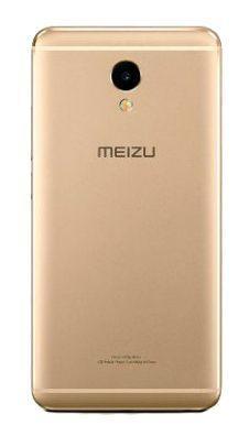 Задняя крышка корпуса Meizu M5S Gold