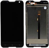 Дисплей (экран) для телефона Blackview BV5000, GoClever Quantum 2500 Rugged + Touchscreen Black