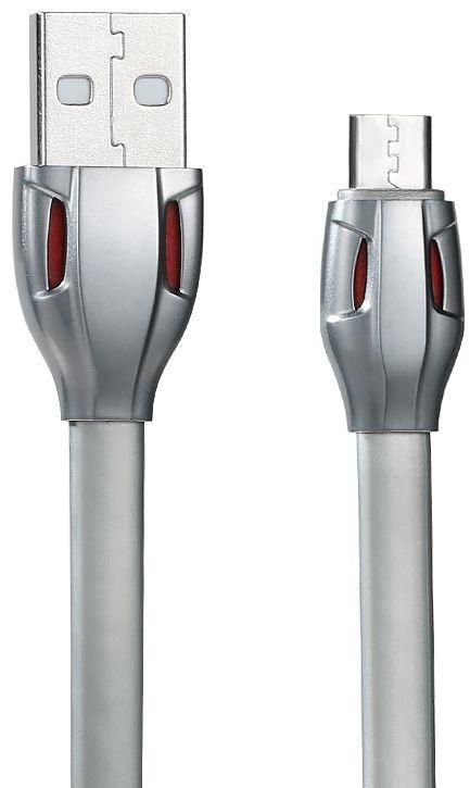 Кабель USB Remax Laser Type-C Grey / Black (RC-035a)