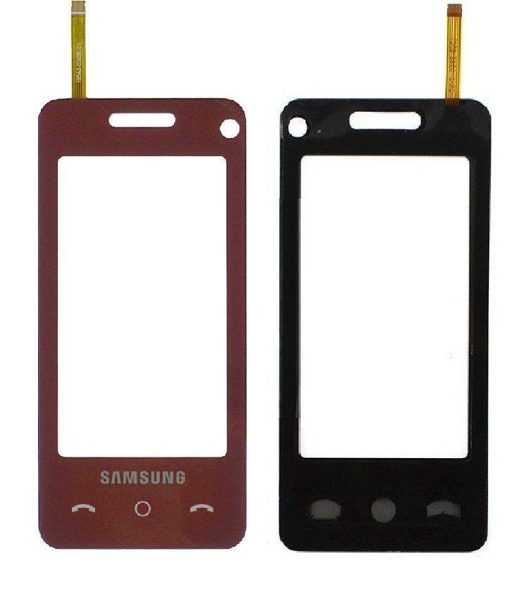 Сенсор (тачскрин) для телефона Samsung F490 Red