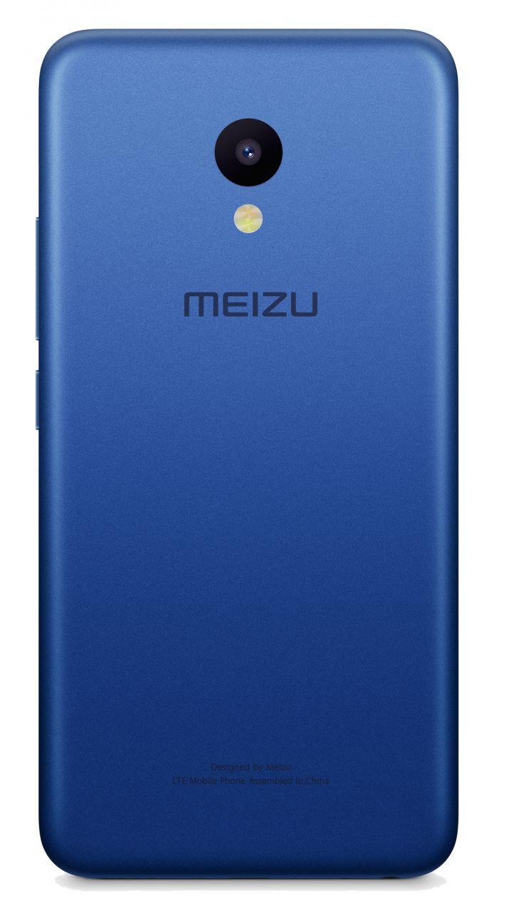Задняя крышка корпуса Meizu M5 Blue