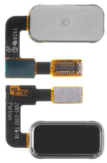 Шлейф Lenovo Vibe P1 кнопки Home Original Black