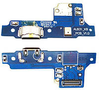 Шлейф Huawei Y5 II (КУН-U29) 3G / Y5 II (КУН-L21) 4G / Honor 5 / Honor Play 5 нижня плата з роз'ємом зарядки і