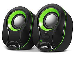 Колонки акустичні Sven 290 Black/Green