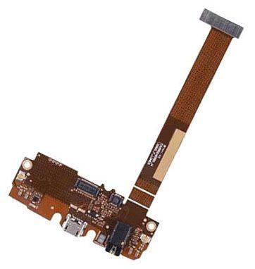 Шлейф Lg H955 Optimus G Flex 2 с разъемом наушников, разъемом зарядки и микрофоном