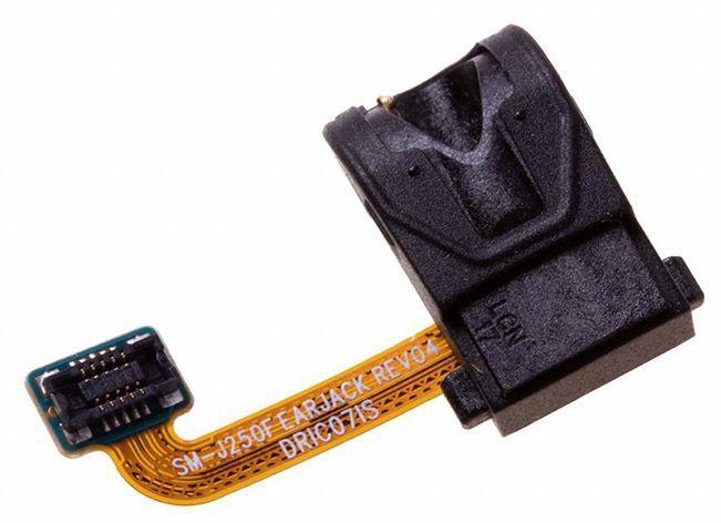 Шлейф Samsung Galaxy J2 J250F (2018) с разъемом наушников