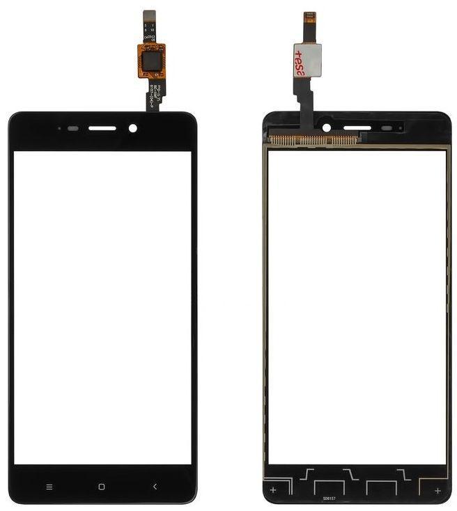 Сенсор (тачскрин) для телефона Xiaomi Redmi 4 Black