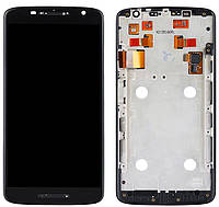 Дисплей Motorola Moto X Play XT1561, XT1562, XT1563, XT1564, XT1565 + Touchscreen with frame Black