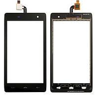 Сенсор (тачскрин) для телефона Homtom HT20, HT20 Pro Black