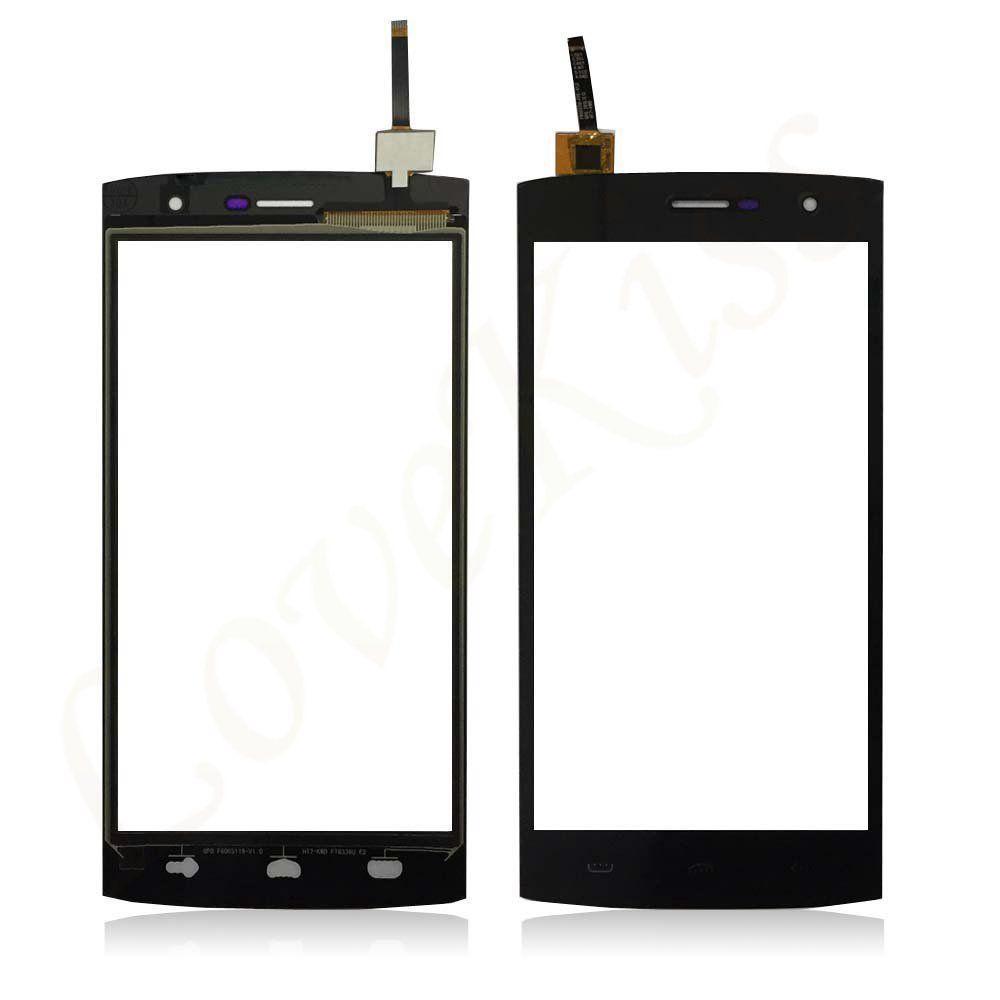 Сенсор (тачскрин) для телефона Homtom HT7, HT7 Pro, Ergo A550 Black