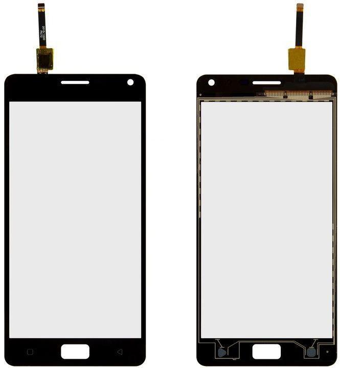 Сенсор (тачскрин) для телефона Lenovo Vibe P1 Pro, Vibe P1 Turbo Black