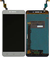 Дисплей (экран) для телефона Lenovo Vibe K5 Plus A6020a46, Lemon 3 + Touchscreen White