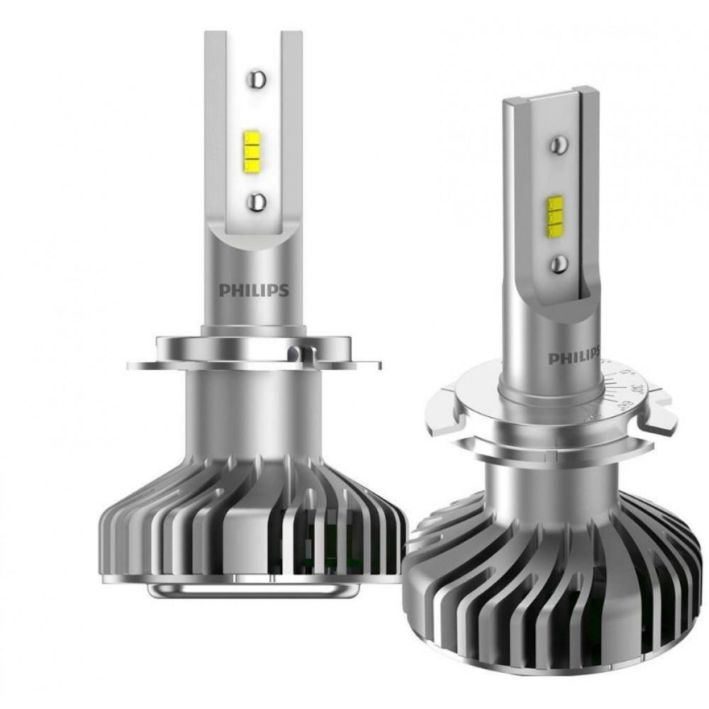 Лампи світлодіодні Philips Ultinon H7 +160% 6200K 11972ULWX2