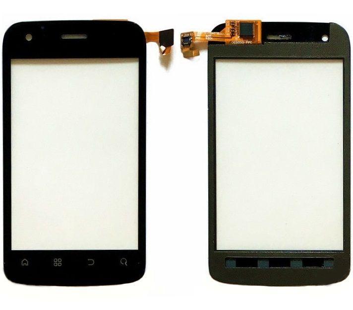 Сенсор (тачскрин) для телефона Fly IQ245 Wizard Black
