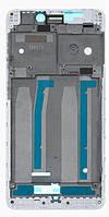 Передня панель корпусу (рамка дисплея) Xiaomi Redmi 4A White
