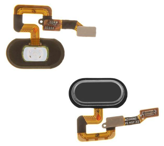 Шлейф Meizu M3 Max кнопки Home Black