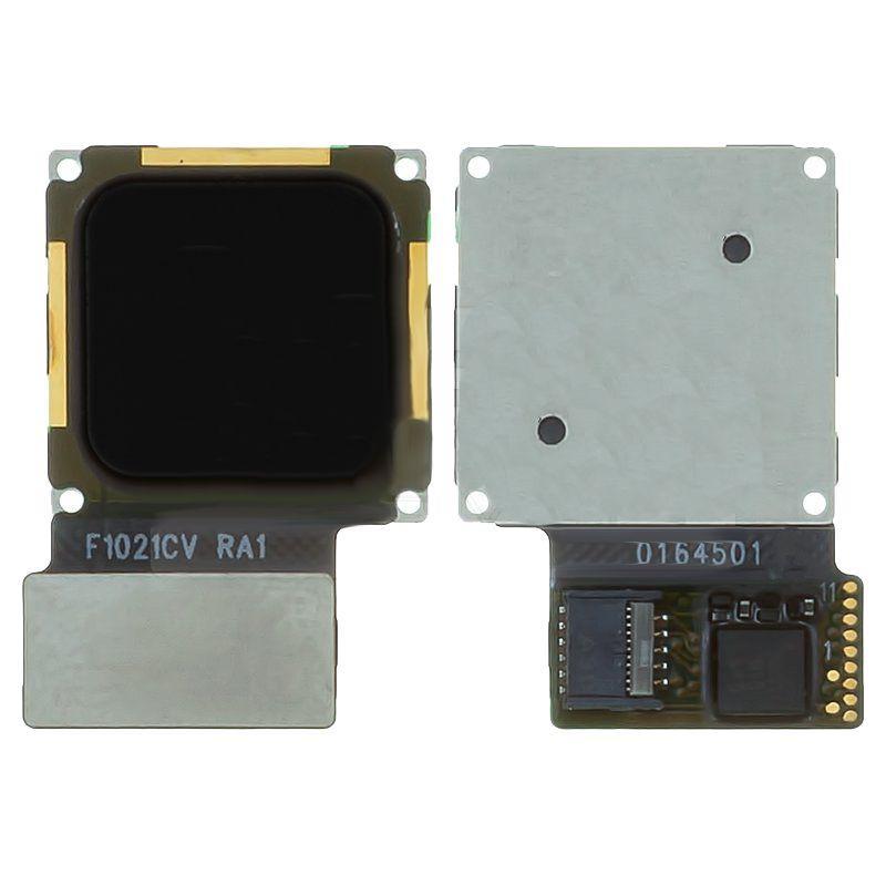 Шлейф Huawei Nova зі сканером відбитка пальця (Touch ID) Black