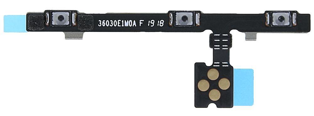 Шлейф Xiaomi Mi8 с кнопкой включения и регулировки громкости Original