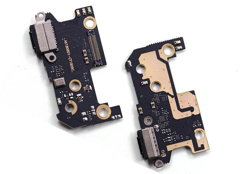 Нижняя плата Xiaomi Mi8 с разъемом зарядки вибромотором и микрофоном Original